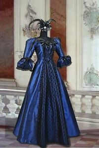 Renaissance-Medieval-Victorian-Costume-Dress-Size-L