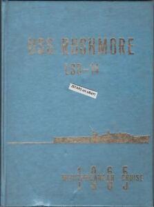 1965-USS-RUSHMORE-LSD-14-U-S-NAVY-MED-CRUISE-BOOK