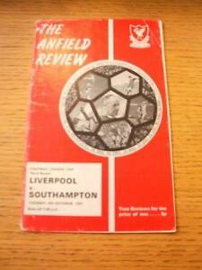 05101971 Liverpool v Southampton Football League Cup Heavy Creased Folded - <span itemprop=availableAtOrFrom>Birmingham, United Kingdom</span> - Returns accepted within 30 days after the item is delivered, if goods not as described. Buyer assumes responibilty for return proof of postage and costs. Most purchases from business s - Birmingham, United Kingdom