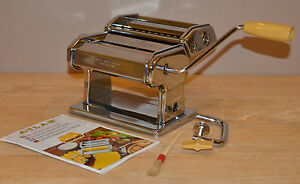 FREE-PRIORITY-SHIP-PASTA-QUEEN-ATLAS-MARCATO-DELUXE-SPAGHETTI-MAKER-MACHINE-USED
