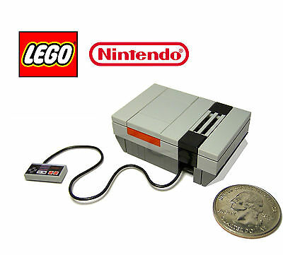 ☆NEW☆ LEGO Novelty Original Nintendo Video Game System Console With Controller!
