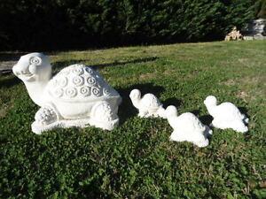 Statua tartaruga da giardino in cemento marmo pietra for Tartaruga da giardino