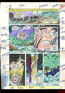 MISTER MIRACLE 12 PAGE 22 COLOR GUIDE-ORIGINAL ART-1 OF A KIND-WEIN-PHILLIPS