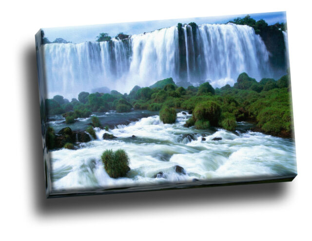 Iguassu Falls, Brazil Canvas Picture Art