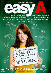 Easy A (DVD, 2010) NEW