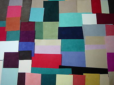 46   ASSORTED PIECES  ULTRASUEDE® SOFT WEIGHT CABACHON BEADING