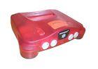 Nintendo 64 Watermelon Red Console