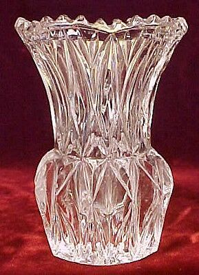 Lovely Lead Crystal Toothpick Holder Princess House EX COND
