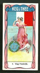 France-Flag-Woman-Costume-Coat-of-Arms-ca-1900