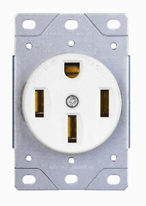 20 240 receptacle wiring industrial flush mount range receptacle 50 amp power ... #15