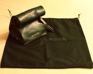 Image Is Loading Jil Sander Leather Lunch Bag