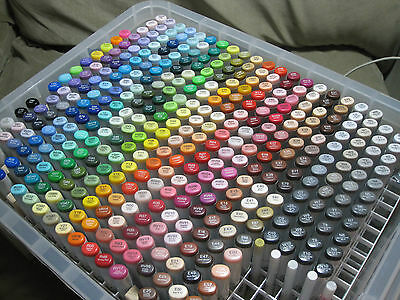 Copic Marker Storage Box Holds & Organizes 358+Markers NO Markers Included