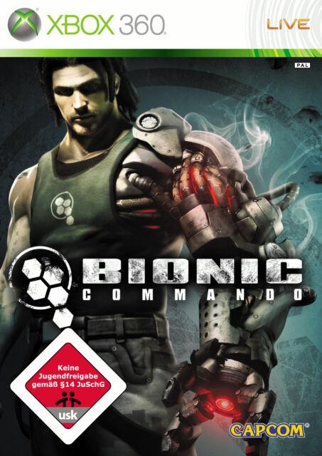 Bionic Commando (Microsoft Xbox 360, 2009, DVD-Box)