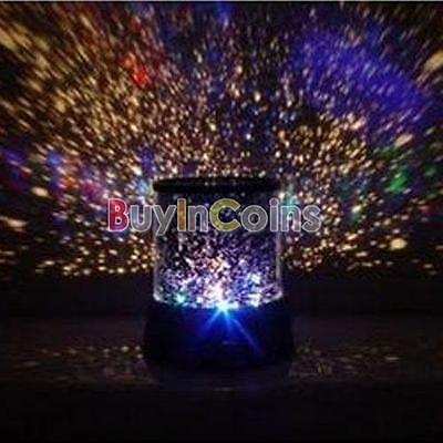 Little Little Twinkle Star Night Light Colorful Lamp Heart Projector Sky Star