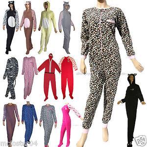 Fleece-Adult-Baby-Grow-Sleep-Suit-All-in-One-Pyjamas