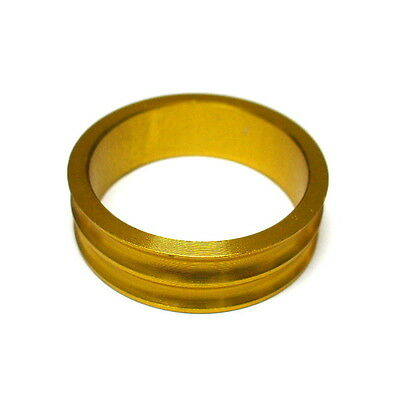 """gobike88 XON XHS-04 Alloy Spacer for 1-1/8"""" Headset,  10mm, 5.0g, Gold, H27"""