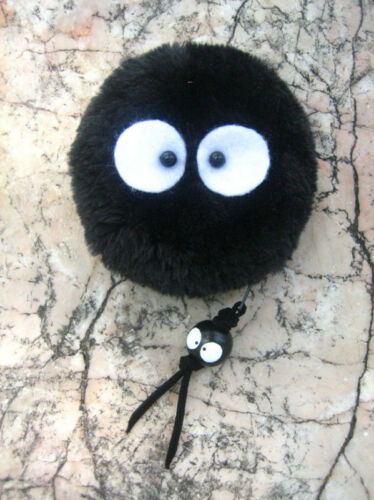 Totoro Susuwatari Spirited Away dust Soot Sprite KUROSUKE Plush coin bag purse