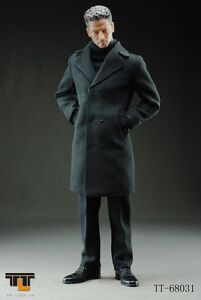 1/6 TTL Toys Man wearing Long BLACK Coat Action Figure item#TTL ...