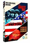 The Longest Day/Patton/Tora! Tora! Tora! (DVD, 2006, 3-Disc Set, Box Set)