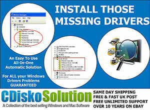 Universal Laptop PC Drivers DVD 1 Millions Drivers Windows XP ...