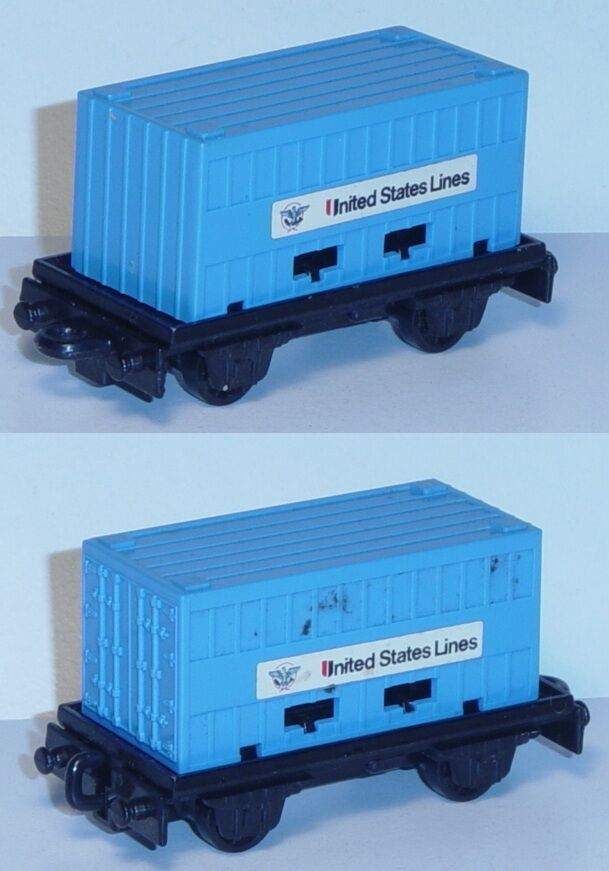precios mas baratos Matchbox 25 Flat Coche, negro, PSI contenedores contenedores contenedores de luz azul, United States Lines  mejor precio