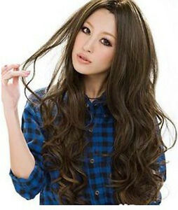 3-Colors-New-Style-Womens-Girls-Sexy-Long-Fashion-wavy-curly-Hair-Wig-Hotter
