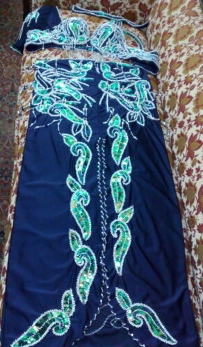 Professional Belly Dance Costume From Egypt BELLYDANCE