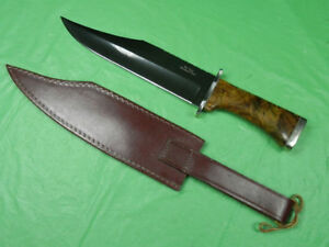RARE-US-Custom-Handmade-DON-LOZIER-Bowie-Fighting-Knife