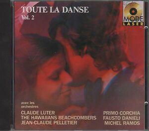 CD-TOUTE-LA-DANSE-CORCHIA-RAMOS-LUTER-PELLETIER-DANIELI-HAWALLANS-BEACHCOMBERS