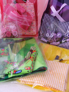 Craft-bundle-fabric-felt-ribbon-button-amp-thread-pack-for-sewing-amp-crafts