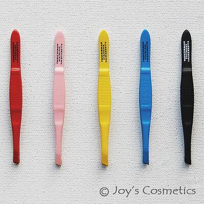 """1 TWEEZERMAN Professional Tweezers Tweezette """"Pick Your 1 Color""""*Joy's cosmetics"""