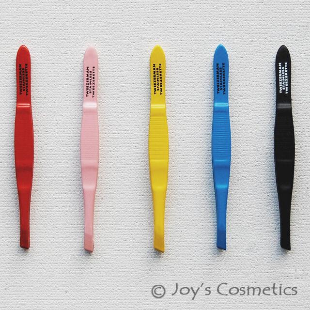 """1 TWEEZERMAN Professional Tweezers Tweezette """"Pick Your 1 Color!!""""  *Joy's*"""