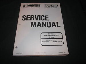 OEM-MERCURY-amp-MARINER-OUTBOARD-SERVICE-MANUAL-225-3-LITRE-90-822900