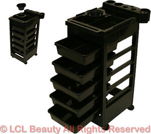 New black cart trolley tray doctor dentist tattoo trolly for A and m salon equipment