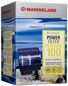 MARINELAND PENGUIN 100B BIO-WHEEL POWER FILTER | eBay