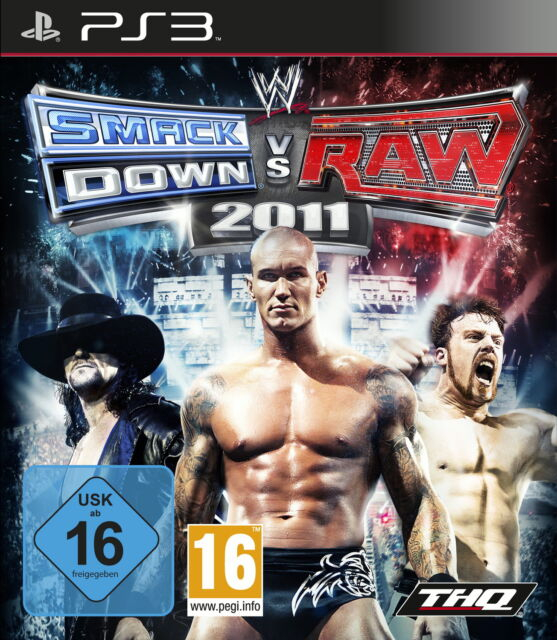 WWE SmackDown vs. Raw 2011 (Sony PlayStation 3, 2010)