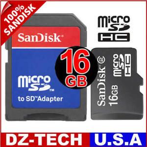 SanDisk-16GB-Micro-SD-SDHC-MicroSD-Memory-Card-16-G-NEW