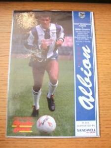 29111989 West Bromwich Albion v Derby County Zenith - Birmingham, United Kingdom - 29111989 West Bromwich Albion v Derby County Zenith - Birmingham, United Kingdom