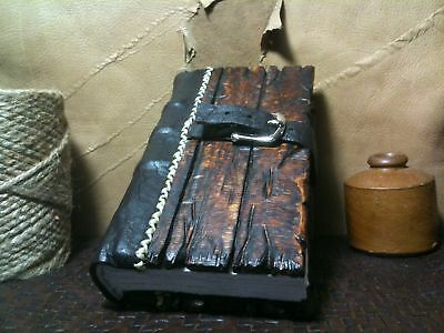 Steampunk Notebook Pirate Leather Journal Handmade Book