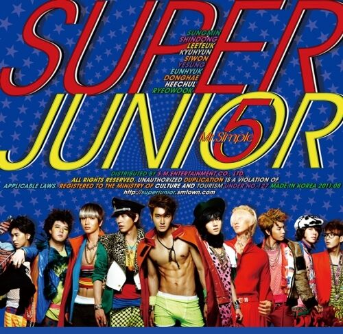 SUPER JUNIOR - Mr. Simple (5th Album : A Ver.) CD + 10 Photo + Free Gift