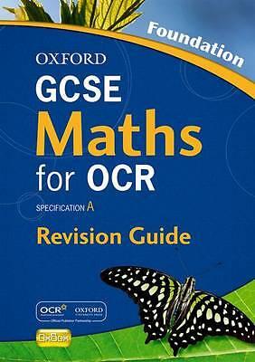 GCSE Maths for OCR Foundation Revision Guide, Gibb, Geoff, Kranat, Jayne, Tully,