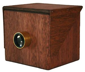 Box-CAMERA-OBSCURA-Replica-Brass-LensTube-wooden-pinhole-large-format-drawing