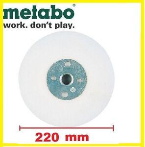 Metabo-Stuetzteller-fuer-Fiberschleifscheiben-220-mm-M-14-fuer-Winkelschleifer