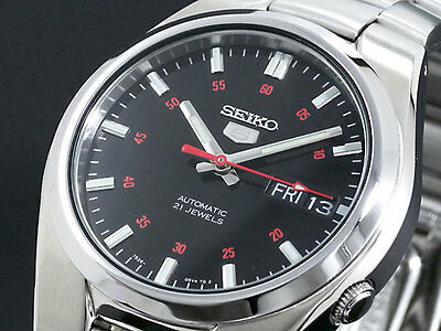 SEIKO 5 SNK617 SNK617K1 21 Jewels Automatic Free Ship!