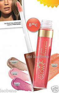 AVON-Glow-Lipgloss-Sunkissed-Nude-mit-Vitaminen-vorm-Arabian-Glow-NEU