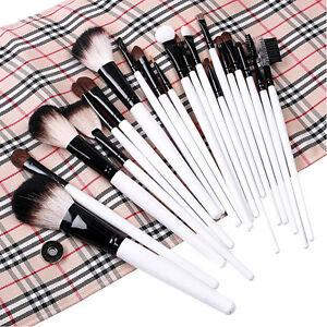 20-PCS-Pro-Eyebrow-Lip-Eyeshadow-Cosmetic-Makeup-Brushes-Set-Kit-Soft-Case-New
