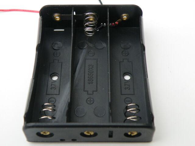 18650 Battery Holders: 1,2,3 & 4 Batteries. Serial & Parallel Options. UK Stock.