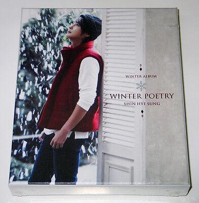 Shin Hye Sung SHINHWA - WINTER POETRY: 2012 Special Album CD+Photobook+Poster