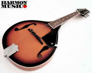 SAVANNAH SA-100 A STYLE MANDOLIN SUNBURST MANDO NEW !