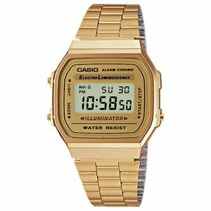 57423dde2 Casio A168WG A168WG-9WDF Wrist Watch for Men for sale online